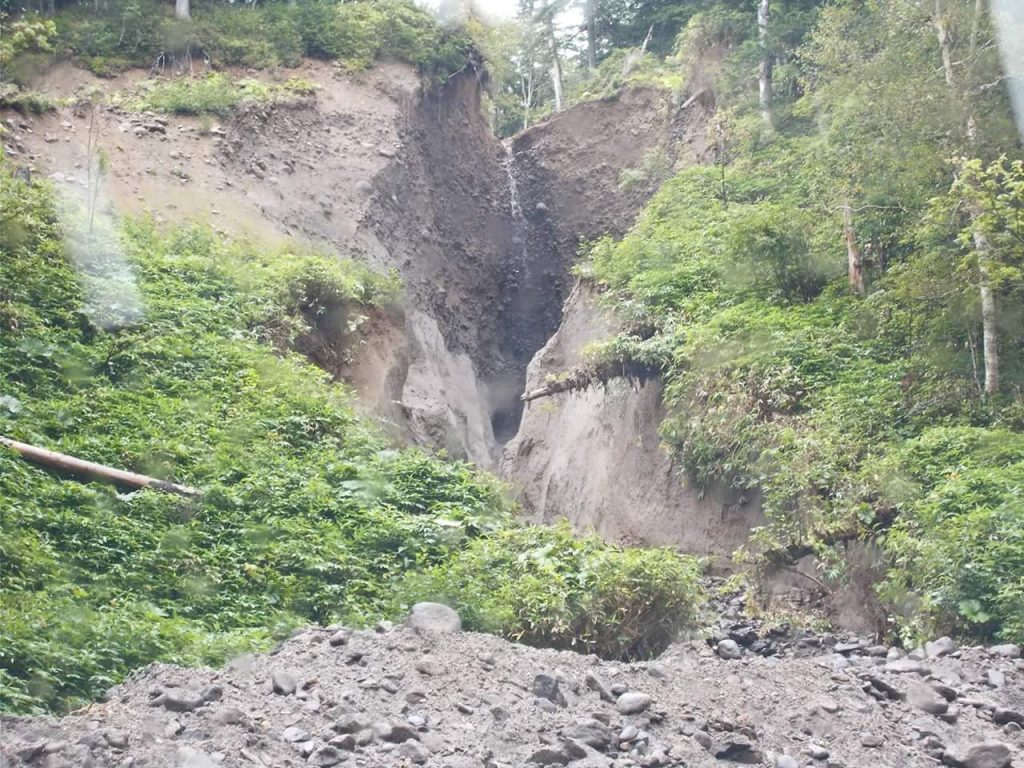 高原温泉まで残り四キロ